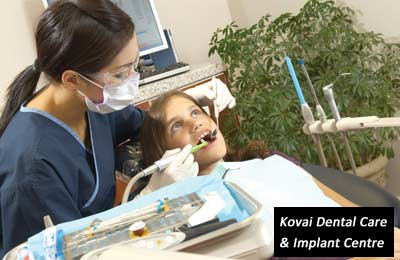 Rs. 99 for dental services and consultation worth Rs. 550 at Kovai Dental Care