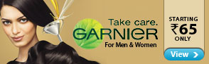 Garnier for Men & Women Starting Rs.65 only