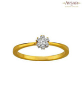 Avsar Divine Gold & Diamond Ring