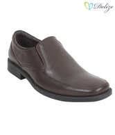 Delize Classy Dark Brown Slip-on Shoes