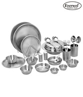 Everwel Stainless Steel Trendy 25 Pcs Dinner Set