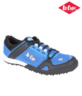Lee Cooper Sky Blue & Black Running Shoes