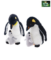 Nature Plush Penguin With Baby Soft Toy