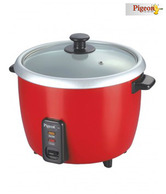 Pigeon  Electric Rice Cooker - Joy Unlimited 1.0 Ltr Red