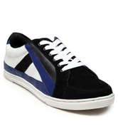 Navyfont Black & Blue Lifestyle Shoes