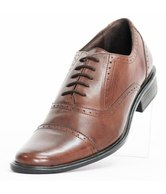 Tracer Brown Leather Brogue Shoes