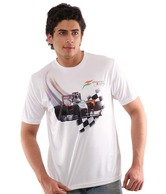 Sahara Force India F1 Team Cool White T-Shirt