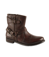 Salt 'n' Pepper Exclusive Brown High Ankle Boots
