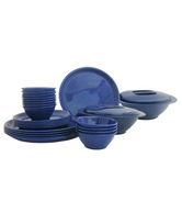 Incrizma Blue 28 Pcs Round Dinner Set
