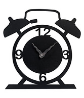 Earth Magnificent Wall Clock - Black