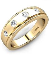 Candere 18K Gold & Certified Diamond The Brampton Band