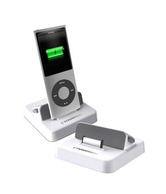 Powermat PMR-AID1 Receiver Dock for iPod and iPhone (White)
