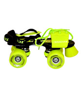 Jaspo  Marshal Florescent Yellow Skate Shoe (Yellow Wheel)