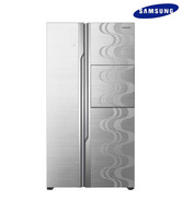 Samsung RS844CRPC5H/TL Side By Side 890 Ltr Refrigerator Lux Metal