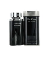 Black Soul by Ted Lapidus Eau De Toilette Spray for Men  100 ml  (Imported)