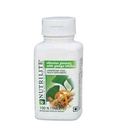Amway Nutrilite Siberian Ginseng With Gingko Billoba (100 Tablets)