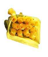 Bunch Of 12 Yellow Roses Special