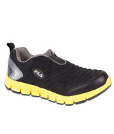 Fila Smash Lite Black & Yellow Sports Shoes