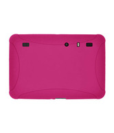 Amzer Silicone Skin Jelly Case - Hot Pink for Motorola Xoom