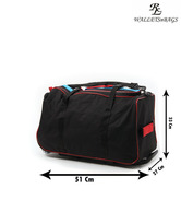 WalletsnBags Stylish Black Trolley Bag