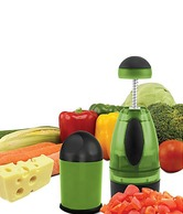 Keya's World Vegetable Chopper With Free Cheese Grater