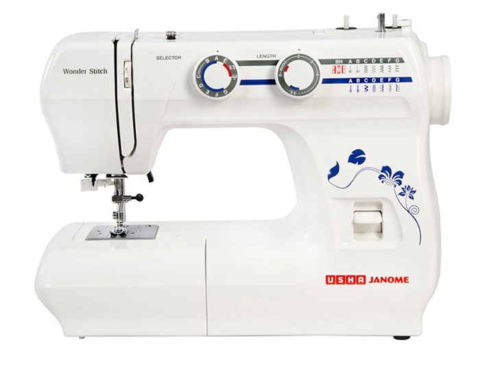 usha janome wonder stitch automatic sewing machine price in india