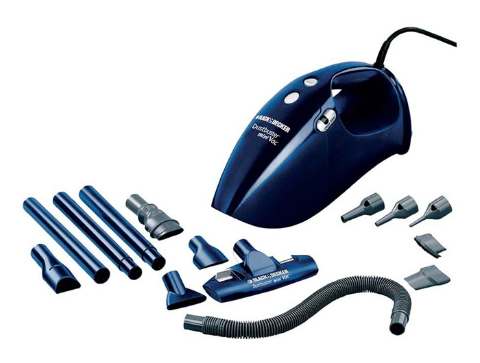 Black Decker VH780 780W Handy Vacuum Cleaner With 14 Accessories