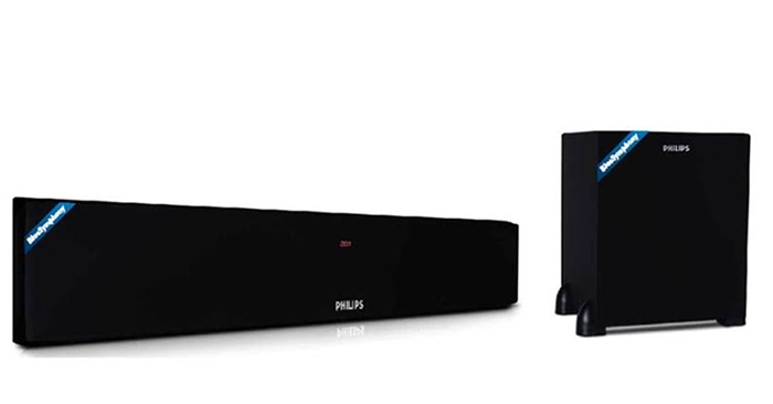 The Philips Dsp470u Bluetooth Soundbar Has A Stylish And Elegant Design Of This Speaker Is Not Only Beauty On Its Own But Also Enhances