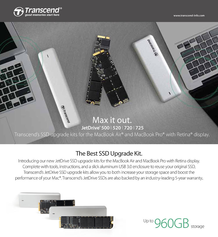 TRANSCEND Jet Drive 240GB 520 - Buy TRANSCEND Jet Drive