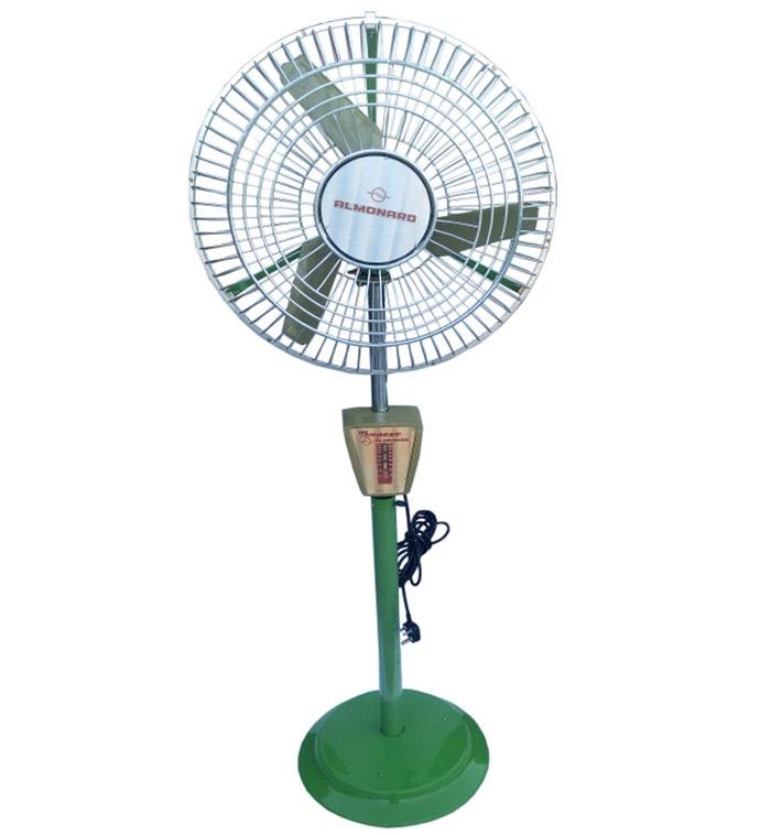 Almonard 18 Inch Pedestal Fan Green Price In India