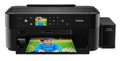 Epson L810 Photo Printer - 6 color ink tank - Black Body - Buy Epson