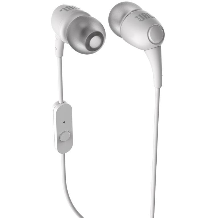 b8698d55b87 JBL T150A In Ear Earphones with Mic (White) - Buy JBL T150A In Ear ...