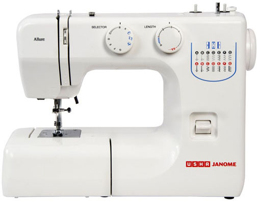 Usha Janome Allure Sewing Machine Price In India Buy Usha Janome Cool Usha Sewing Machine Price List In Kerala