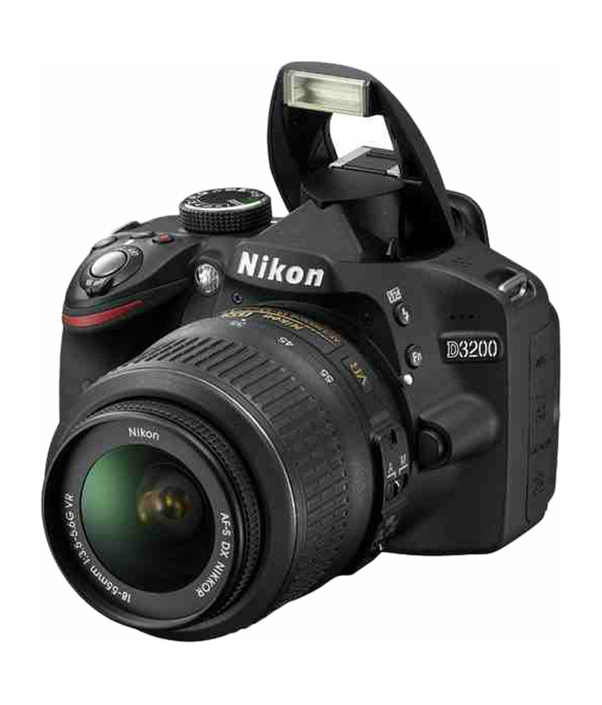 Camera Nikon Dslr D3200 Camera nikon d3200 with 18 55mm lens 55 200mm combo price in india description