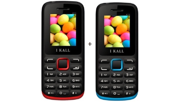 024c05dc05e I Kall K11 (Set of 2- Red   Blue) - Feature Phone Online at Low ...